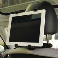 Wholesale ipad Tablet PC Car Backrest Mounting Universal car Holder for Tablet PC ipad Mounts brackets frees shipping