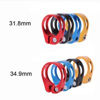 Wholesale 31 mm mm Quick Release Aluminium Alloy Seatpost Clamp Mountain Road MTB Bicycle Seat Post Clamp Tube Clip Bike Parts