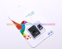 Wholesale Adata GB Class Micro SD TF Memory Card MicroSDHC Card with Free Adapter Retail Package for Samsung Galaxy S5 S7