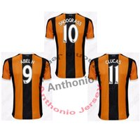Wholesale soccer jersey HULL CITY camisetas de futbol camisa de futebol maillot de foot survetement football kit uniform football shirt