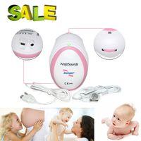 Wholesale Hot Sale FDA CE Approved Pocket Angelsounds Fetal Prenatal Heart Rate Monitor Doppler MHz