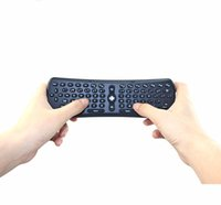 Wholesale 2016 Game Wireless Keyboard Mini Keyboards axis Sensing Gyroscope Sensors Fly Air Mouse Remote For TV BOX Android TV Box Smart IPTV