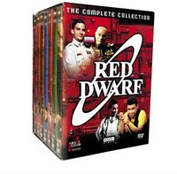 Wholesale 2016 hot sale DVDs Red Dwarf The Complete Collection tv series movies New free DHL shipping