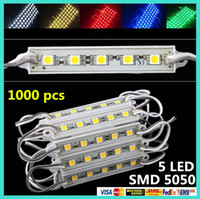 Wholesale 1000pcs SMD LEDs LED Modules White Warm White Cool white green yellow red blue Waterproof Light Advertising lamp DC V DHL