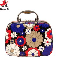 aluminum fly boxes - FLYING BIRDS women cosmetic bag Capacity Large Cosmetic Bags Box Makeup Bag Beauty Case Travel Jewelry Display Case LM3603ay
