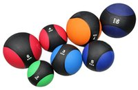 Wholesale new kg muscle driver rubber medicine ball bounce med fitness exercise ball for and kylin sport