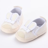 Wholesale Cute Girl 15 Age - Cute Baby Soft Sole Shoes Cartoon Rabbit Comfortable Non-slip Save Newborn Infant Toddler Baby Girls Shoes Age 0-15 Months First Walkers
