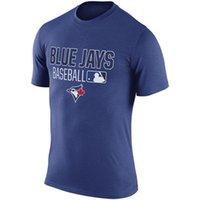 baseball legend - NEW ARRIVAL Men Womens T Shirt Toronto Blue Jays Royal Legend Wordmark Performance Tee