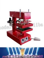 Wholesale Digital controller rosin press Psi ton pressure CE Tested Pneumatic Double Heat Rosin Press x20cm LLFA