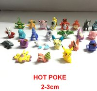 Wholesale Poke E PACKET FREE Figures Toys cm Pikachu Charizard Eevee Bulbasaur Suicune PVC Mini Model Toys For Game Fans Hot