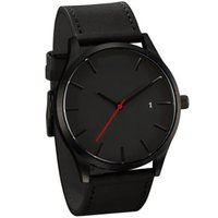 Wholesale 2016 uxury brand quartz watch Casual Fashion Leather watches reloj masculino men watch Sports Wristwatch Relogio Masculino