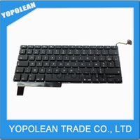 Wholesale Wolesale Price For Macbook Pro quot A1286 MB985 MB986 MC721 New Laptop French Fance Keyboard FR Keyboard