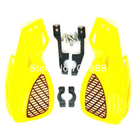 atv hand guard - YELLOW COLOR quot ATV hand guards KTM hand guards dirt bike hand guards Fit EXC CRF YZF KXF KTM