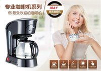 Wholesale CM1016 L cups CE ROHS High quality automatic drip coffee maker machine tea machine home insulation