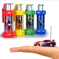 Wholesale LED RC Car New Grenade Mini Speed RC Radio Remote Control Micro Racing Cars Toy Gifts Promotion