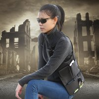 Wholesale New fashion outdoor sports bags security underarm tactical bags FBI agents Invisible Backpack ipad next to the skin wallet