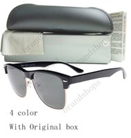 ban sunglasses - Novelty Leopard Black Designer Eyewear Retro Italy ban Half frame Sunglasses Men women shade Fashion unisex Retro glasses with original box