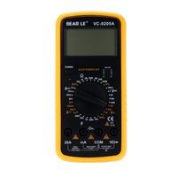 Wholesale DT9205A AC DC LCD High Precision Professional Electric Handheld Tester Meter Digital Multimeter Ammeter multimeter