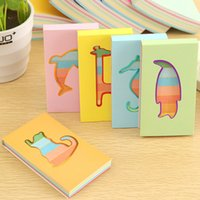 Wholesale school supplies kawaii stationery cute candy colorful rainbow notebook memo pad notepadpaper papelaria