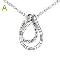 Joyería cristalina 2016 de China del collar de la aleación de la aleación de la geometría de la manera de las mujeres de la joyería genuina genuina de Swarovski de los elementos