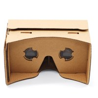 Wholesale new Google D cardboard vr storm mirror vr customized virtual reality glasses active DIY Google cardboard VR Shutter headset Android Vr