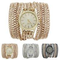 Superior de la venta caliente del verano de la manera más reciente de Hawai estilo popular espumoso reloj de pulsera de cadena manual de relojes