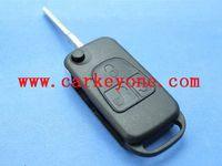 Wholesale Hot Sale car key for mercede Benz button flip remote key shell track M38847