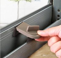 Wholesale Home Transfer Window Sliding Door Child Safety Locks Door Security Lock Sliding Sash Stopper Grey Color Grey WE