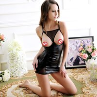 Wholesale Sexy Underwear Erotic Large Size Hot Fashion Women Expose Fliration New Europe Night Dresses Polyester and Spandex