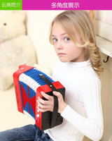 Wholesale Supply instrument accordion bass key puzzle toy musical instrument music teaching aids Enlightenment keyboard instrument category