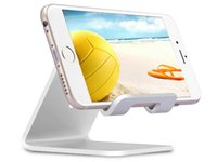 Wholesale New Universal Cell Phone Tablet Desk Stand Holder For iPad Air Mini Aluminium Alloy Smartphone Bracket for Samsung iPhone