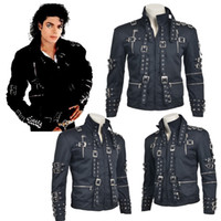bad cosplay costumes - High Quality Original King Singer Michael Jackson Concert quot Bad quot Cosplay Costume Daily Jacket Black Coat Customize