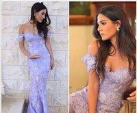art deco print woman - 2016 New Arrival Women Sexy Light Purple Lace Applique Cap Sleeves Sweetheart Formal Long Mermaid Evening Dresses