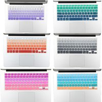 imac 27 - NEW US Version Gradient Colorful Silicone Keyboard Cover for MacBook Air Pro Retina imac quot Keyboard Protector