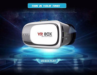 Wholesale VR BOX II Virtual Reality D Glasses plastic Helmet Case for Games and VR Video