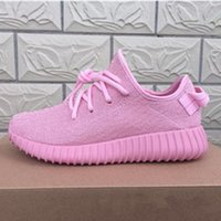 Wholesale Hot Sale Pink Boost Kanye West Boots Ankle Boots Low Oxford tan Turtle dove Priate black Men Women Sneakers US5