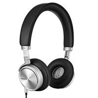 aluminium fibre - 2016 Authorized Meizu HD50 Headphones Headhand HIFI Aluminium alloy shell Less than of low distortion Superfine fibre diaphragm PA3380