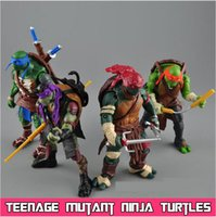Wholesale New NECA Toy Teenage Mutant Ninja Turtles Action Figure TMNT Model Toys For Boys Juguetes Birthday Christmas Gift Brinquedos