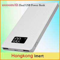 Wholesale New PINENG PN963 mAh High Capacity Dual USB Li Polymer Mobile Power Bank LED Digital Display Indicator portable charger