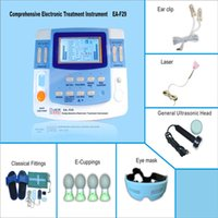 Wholesale low frequency channels physiotherapy magnetic device laser therapy with electrode pads CE approved EA VF29