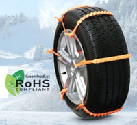 Wholesale 2016 Brand New Emergency Snow chain tire chain for passenger cars truck SUV Sets for wheels