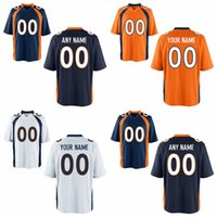 custom american football jerseys - Elite Personalized Denver Jersey Your Name Number American Broncos Custom Football Jerseys Cheap Blue White Orange Fashion Stitched Logos