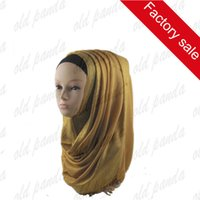Wholesale Hot Sale Beautiful Charming Women New Arrival Gold Many color Lurex Muslim Hijab Shimmer Glitter Shawls Viscose Scarf