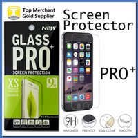 Wholesale XS PRO Tempered Glass Screen Protector For iPhone s Plus Galaxy S6 S7 J3 J5 J7 On5 Grand Prime G530 Core Prime G360 LG G4 G5 K5 K7