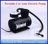 Wholesale Electric Pump Air V W Compressor Portable Tire Inflator pumps Tool PSI DHL ATP019