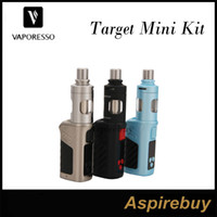 Wholesale Vaporesso Target Mini Kit W VTC Starter Kit ML Vaporesso Guardian Tank with W Target Mini Mod cCell Ceramic Coil Top Fill Original