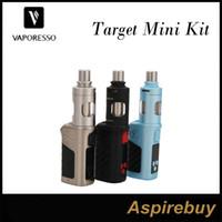 Wholesale Vaporesso Target Mini Kit W VTC Starter Kit ML Vaporesso Guardian Tank with W Target Mini Mod cCell Ceramic Coil Top Fill Original