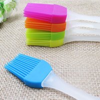 baking gadgets - Silicone Pastry Brush Baking Bakeware BBQ Cake Pastry Bread Oil Cream Cooking Basting Tools Kitchen Accessories Gadgets
