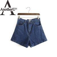 aa jeans - 2016 summer new brand fashion US AA waist jeans shorts women denim short jeans
