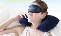 Wholesale Inflatable Soft Flight Travel Car Head Neck Rest Compact Travel Flight Car Pillow Inflatable Pillow Neck U Rest Air Cushion